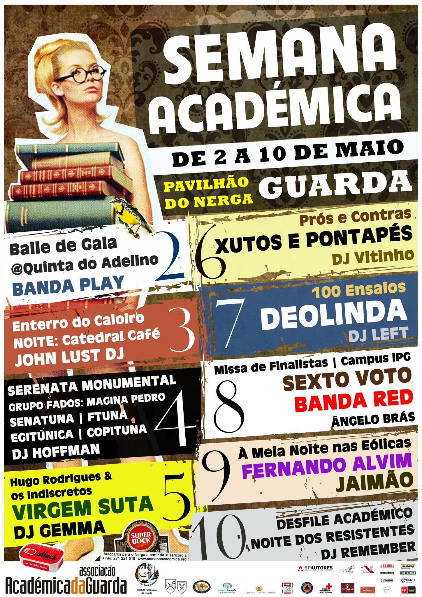 Guarda, Semana académica 2011