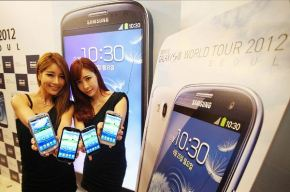 Galaxy SIII mais vendido que iPhone