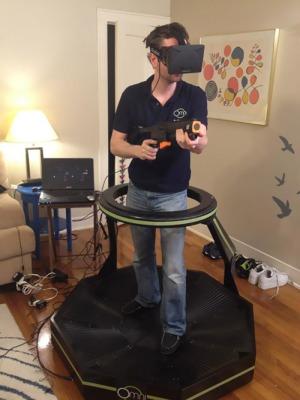 omni-treadmill-controller