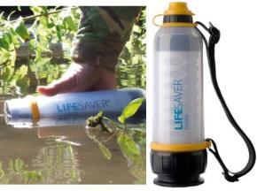 Lifesaver Bottle – Uma Garrafa promete acabar com Problemas daágua